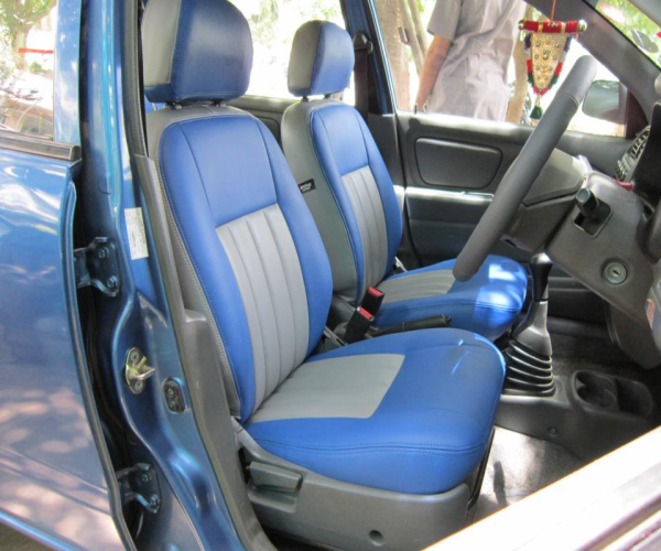 Car Seat On Leather